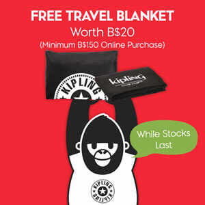 Kipling Free Travel Blanket